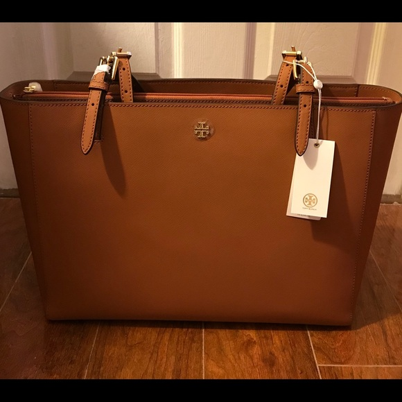 Tory Burch Bags Sale Emerson Large Buckle Tote Bag Poshmark